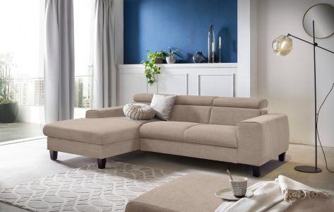 Stūra dīvāns melns ar labu audumu viegli tīrīt koka kājas