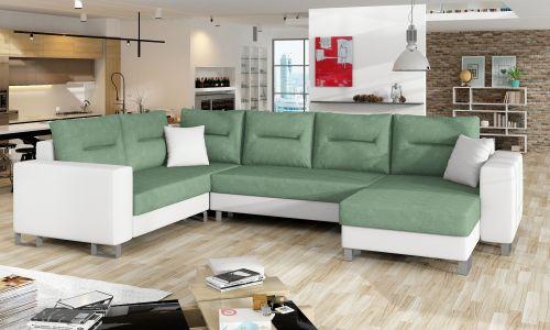 U-образный диван - Dorado (Pаскладной с ящиком для белья)