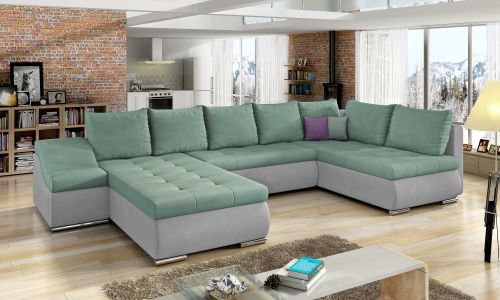 U-образный диван - Giovanni (Pаскладной с ящиком для белья)