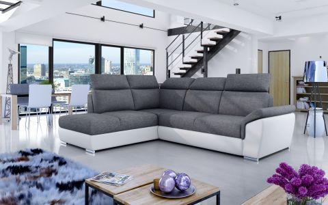 Угловый диван - Loreto (Pаскладной с ящиком для белья)