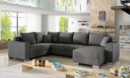 U-образный диван - Marco (Pаскладной с ящиком для белья)