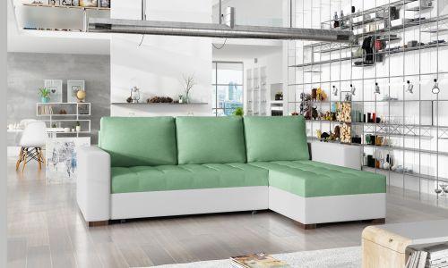 Угловый диван - Newark (Pаскладной с ящиком для белья)