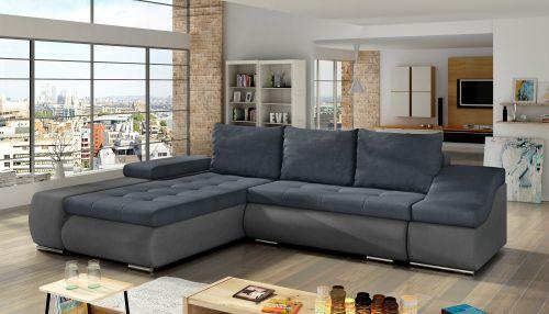 Угловый диван - Ontario (Pаскладной с ящиком для белья)