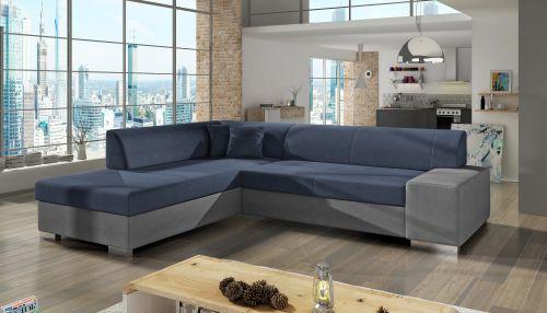 Угловый диван - Porto (Pаскладной с ящиком для белья)