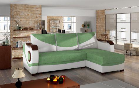 Угловый диван - Puerto (Pаскладной с ящиком для белья)