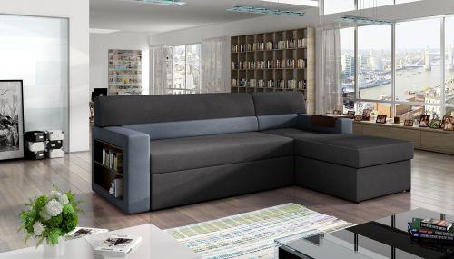Угловый диван - Rico (Pаскладной с ящиком для белья)
