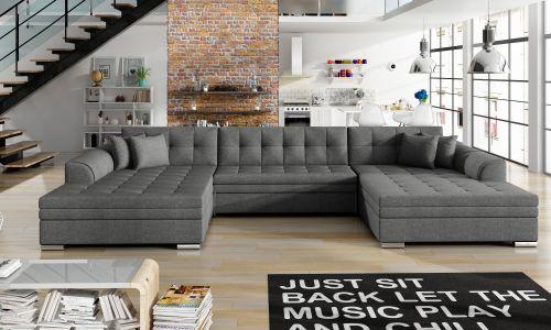 U-образный диван - Vento-P (Pаскладной)