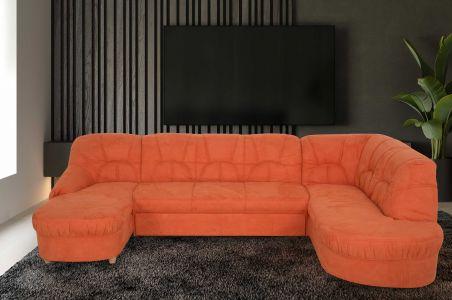 U formas dīvāns - Tossens (Izvelkams)