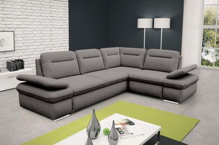 Угловый диван ХL - Margo (Pаскладной с ящиком для белья)