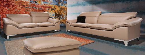 Dīvānu komplekts ādas