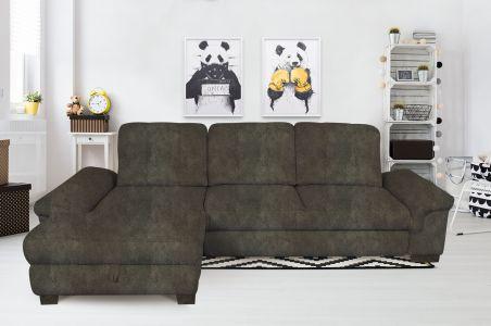 Угловый диван - Jan (Pаскладной с ящиком для белья)