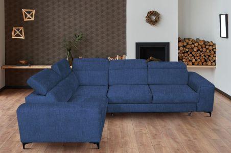 Угловый диван - Genova (Pаскладной с ящиком для белья)