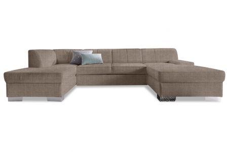 U formas dīvāns - Star ar pufu