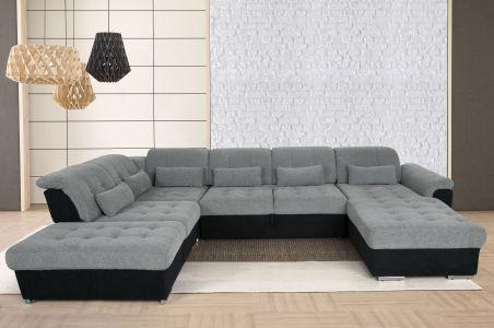 Liels u formas dīvāns