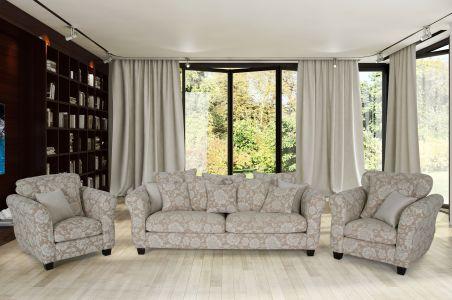 Комплект диванов 3-1-1 - Samson (Pаскладной)