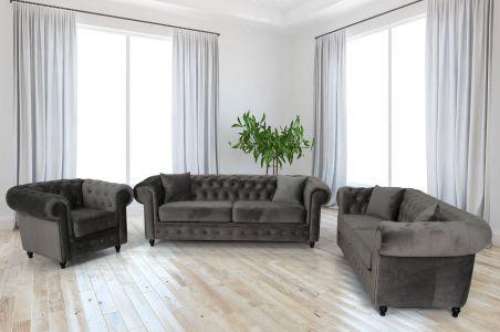 Dīvānu komplekts 3-2-1 - Hilton