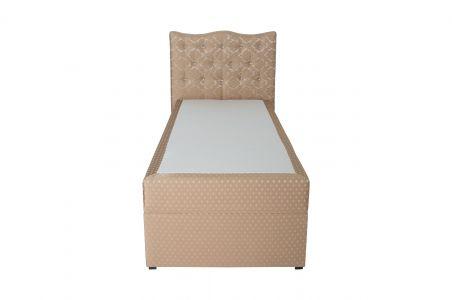 Kontinentālā gulta 90x200 - Diamond (ar veļas kasti)