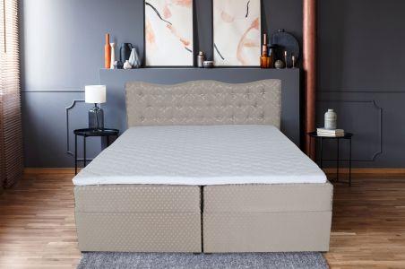 Kontinentālā gulta 180x200 - Diamond (ar veļas kasti)