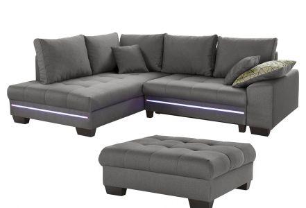 Stūra dīvāns - Nikita 2 (Izvelkams ar veļas kasti)