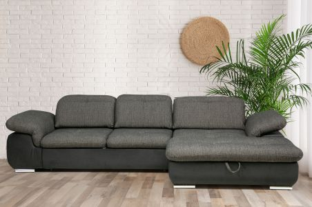 Угловый диван - Andy 2 (Pаскладной с ящиком для белья)