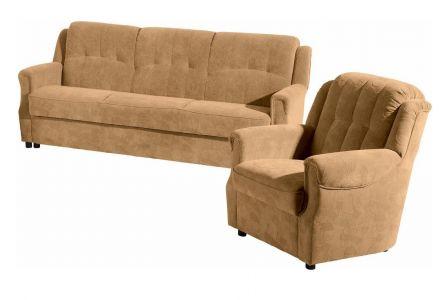 Trīsvietīgs dīvāns - Ares (Izvelkams ar veļas kasti)