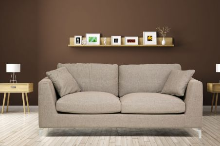 2er-Sofa Ascott - Taupe