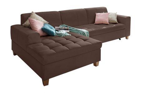 Stūra dīvāns - Corby (Izvelkams ar veļas kasti)