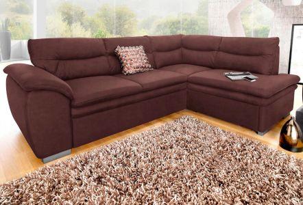 Угловый диван ХL - Leandra (Pаскладной с ящиком для белья)