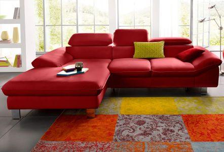 Melns dabīgās stūra ādas dīvāns