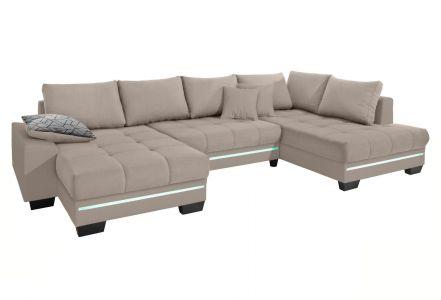 U-образный диван - Nikita 2 (Pаскладной с ящиком для белья)