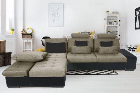 Угловый диван - Change (Pаскладной с ящиком для белья)