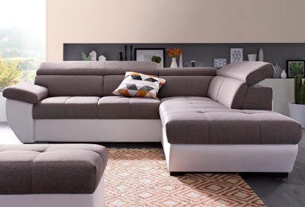 Corner sofa XL - Speedway (Pull-out with laundry compartment)