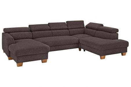 U-образный диван - Steve Luxus (Pаскладной с ящиком для белья)