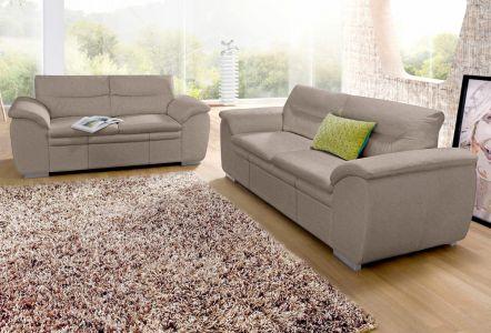 Комплект диванов 3-2-1 - Leandra ar pufu