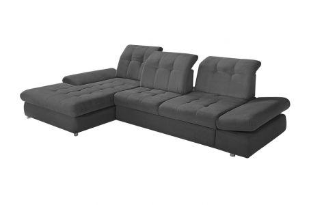 Угловый диван - Arezza-P (Pаскладной с ящиком для белья)