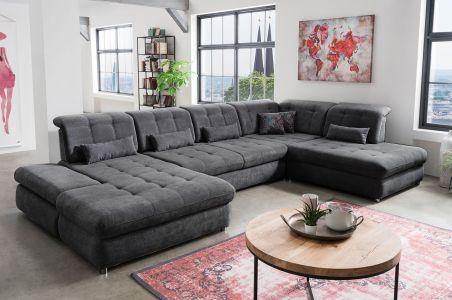 U-образный диван - Arezza-P (Pаскладной с ящиком для белья)