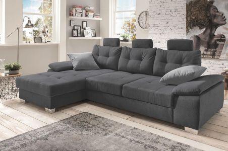 Stūra dīvāns - Brezza (Izvelkams ar veļas kasti)