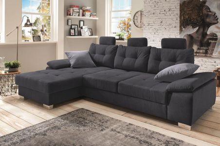 Угловый диван - Brezza (Pаскладной с ящиком для белья)