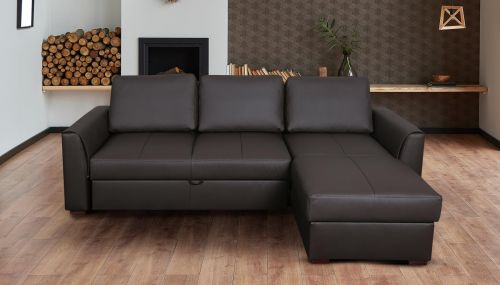 Угловый диван - Moreno-P (Pаскладной с ящиком для белья)
