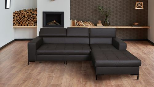 Угловый диван - RicoII-P (Pаскладной с ящиком для белья)
