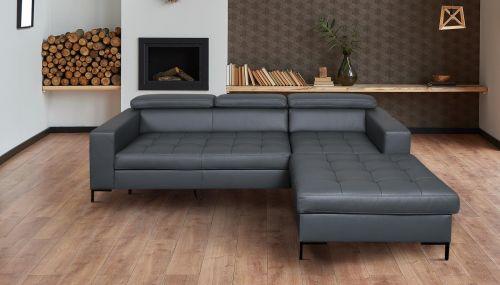 Угловый диван ХL - RicoII-P (Pаскладной с ящиком для белья)