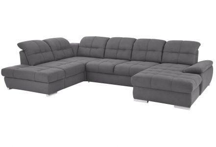 U formas dīvāns - Lotus (Izvelkams ar veļas kasti)