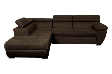 Sofa L-Form Trento-P links - mit Schlaffunktion