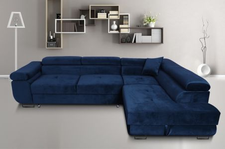 Corner sofa - Amaro-P (Pull-out with laundry compartment)