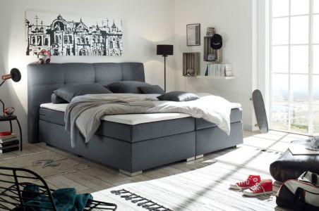 Kontinentālā gulta 160x200 - Pensacola 2 (Izvelkams ar veļas kasti)