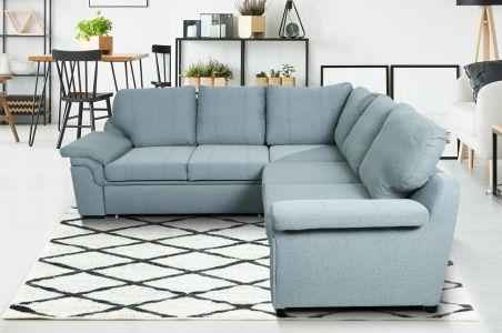 Угловый диван ХL - Amy-P (Pаскладной с ящиком для белья)