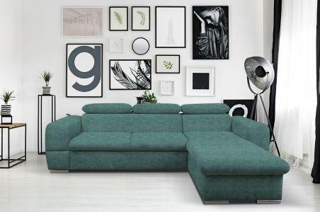Угловый диван - Primo Mini (Pаскладной с ящиком для белья)