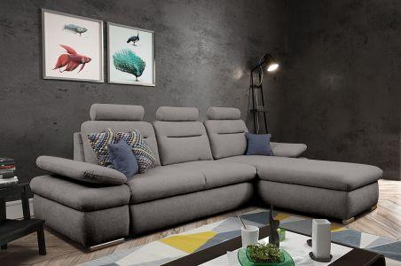 Угловый диван - Margo Mini (Pаскладной с ящиком для белья)