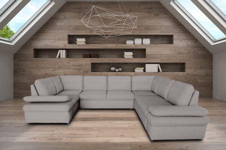 U-образный диван - Margo III (Pаскладной с ящиком для белья)