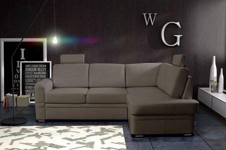 Угловый диван - Robin (Pаскладной с ящиком для белья)